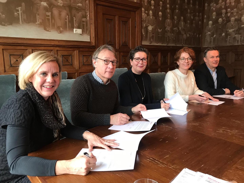 Tekenen convenant Circle of Talent Brabant